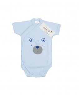 Боді короткий рукав Bear (2614) blue