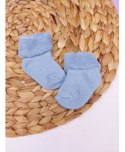 Носочки махрові, блакитні