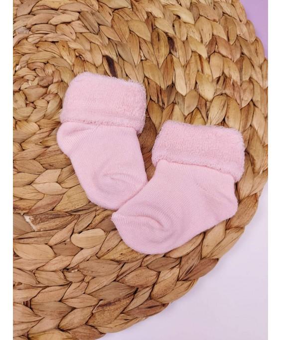 Носочки махрові, рожеві